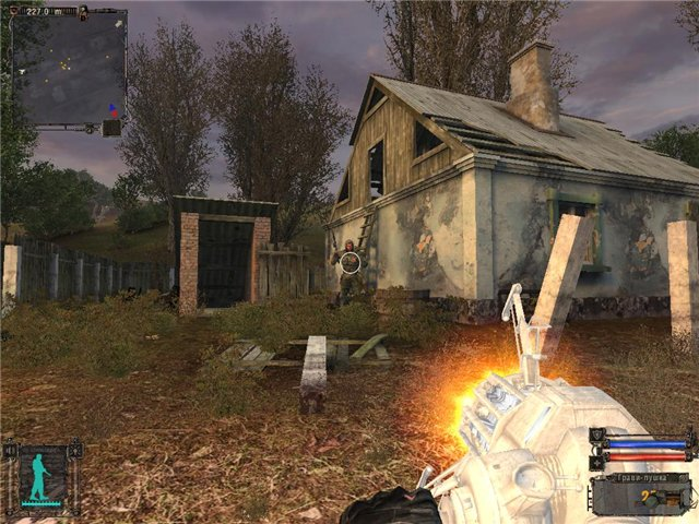 Гравипушка для Stalker - Shadow of Chernobyl из Half-Life 2. Этот
